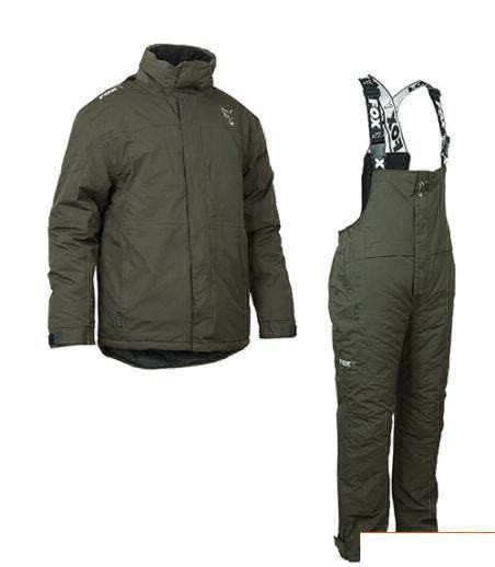 Зимовий Костюм FOX Carp Winter Suit Green & Silver