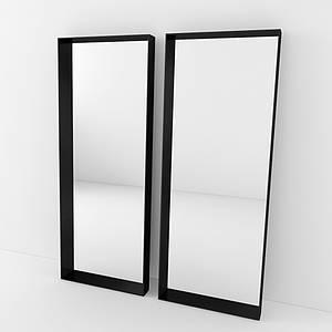 Дизайнерское напольное зеркало Cube TM Esense