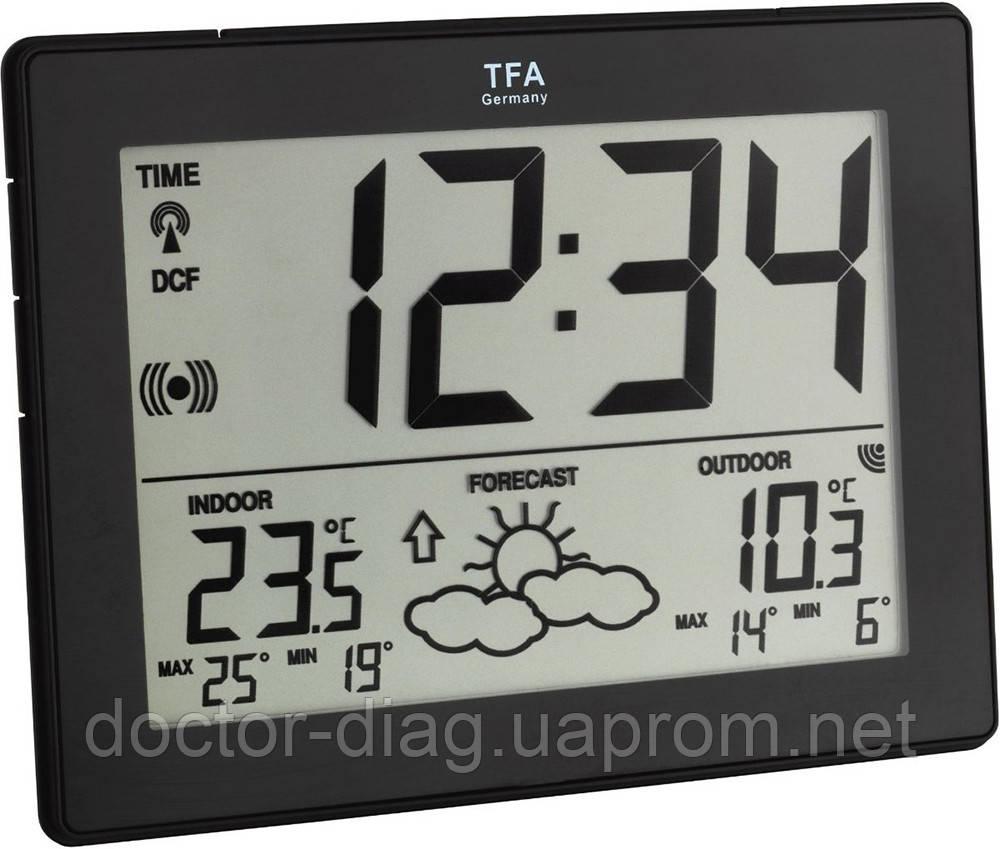 TFA Метеостанція TFA Metro (чорна)