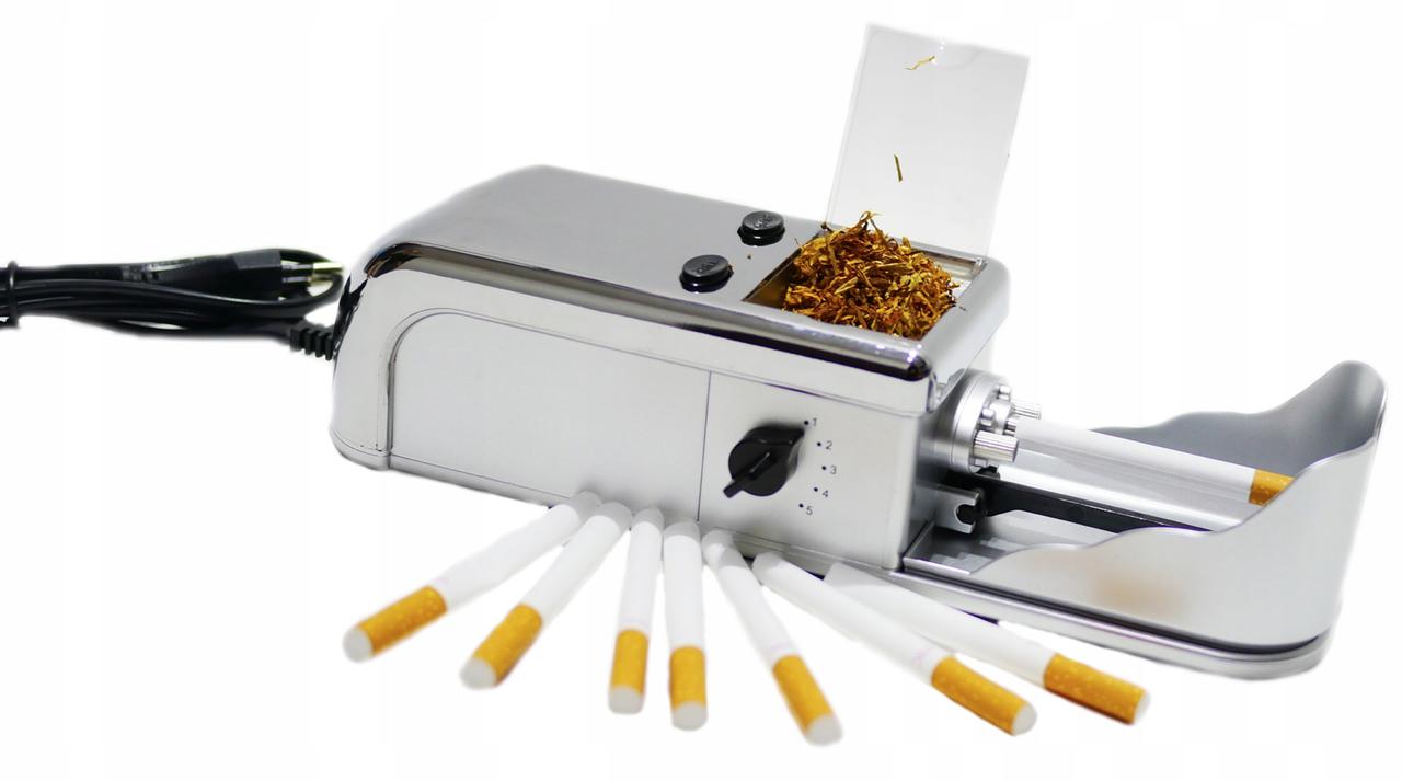 Автоматическая машинка для набивки сигарет купить требование торговля табачными изделиями