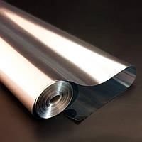 Пленка металлизированная для упаковки цветов и подарков в рулоне 700мм х 50м, толщина 35 мкм