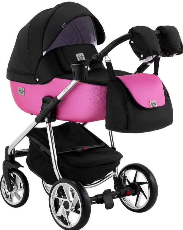 Детская универсальная коляска 2 в 1 Adamex Hybryd Plus BR607