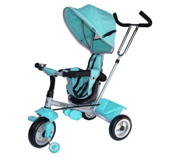 Дитячий триколісний велосипед Baby Mix Rapid