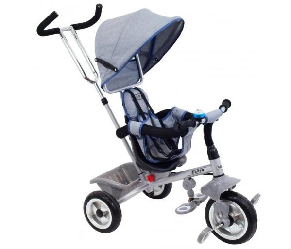 Детский трехколесный  велосипед Baby Mix Rapid