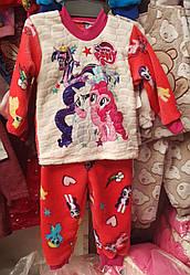 Пижама детская для девочки «Пони»