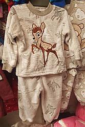 Пижама детская для девочки «Олени»