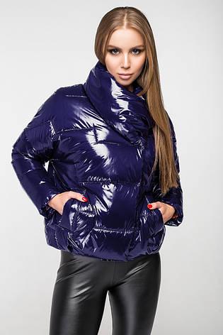 Куртка женская демисезонная KTL-295 - 42_св. синяя, фото 2