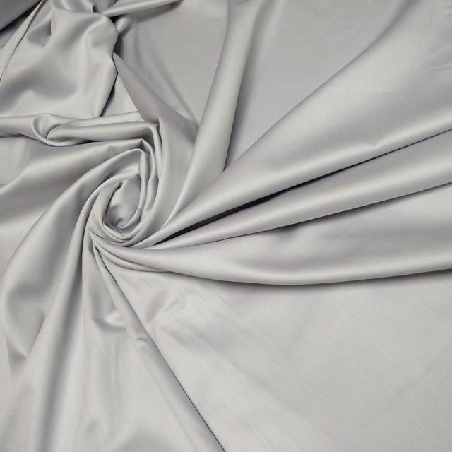 ткань сатин светло серый 240 турция