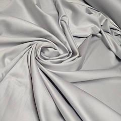 Сатин Светло серый ширина 240 см. №36 (Турция) отрез 1.6