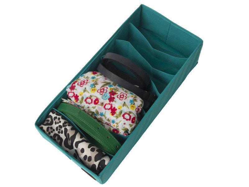 Органайзер коробочка для колгот или сумочек Синий, Голубой без крышки