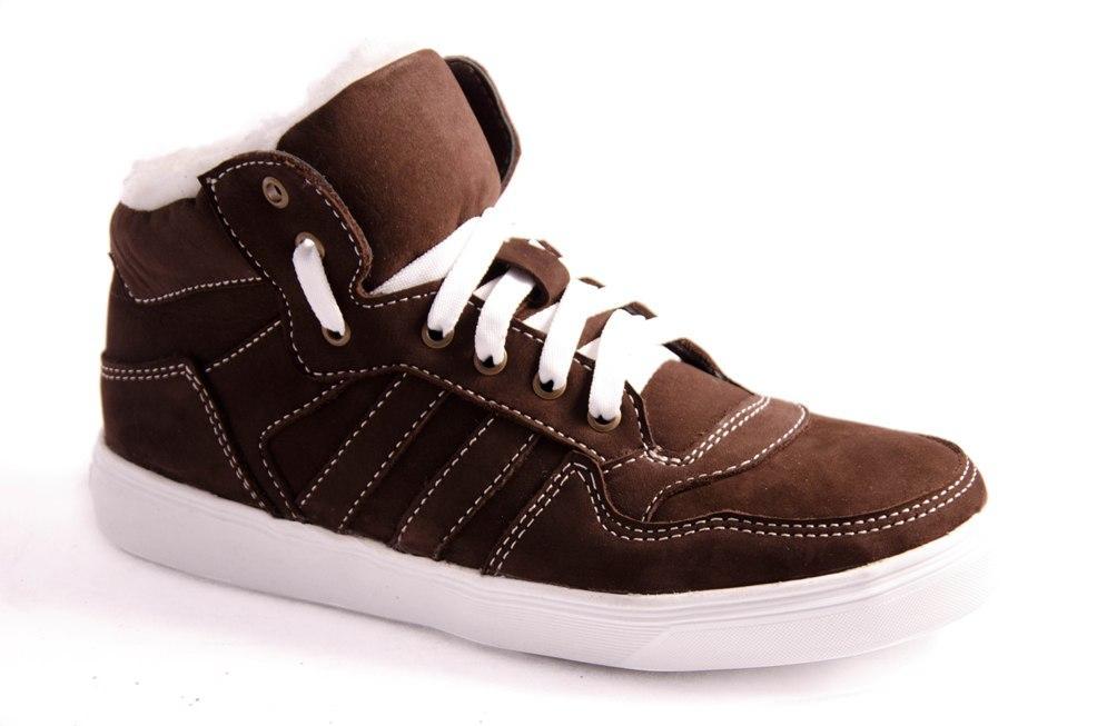 Ботинки подростковые коричневые Romani 7371506 р.36-41