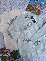 Свитер вязка для девочек от 9 до 14 лет.