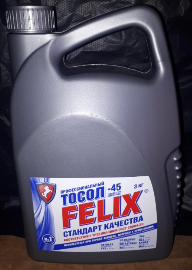 Тосол Феликс FELIX A 45 3кг