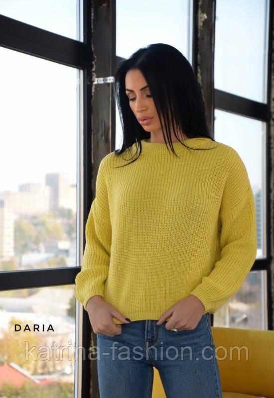 Женский базовый свитер свободного кроя (в расцветках)