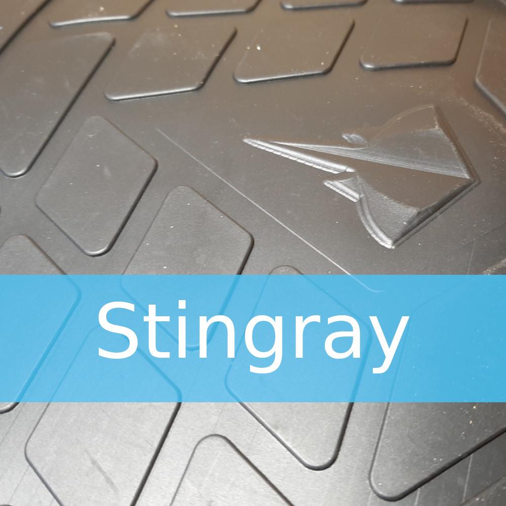 Резиновые коврики в автомобиль Volkswagen Golf (Stingray)