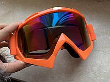 Очки Ктм маска под кроссовый мото шлем, фото 3