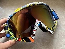 Яркие маски под мото кросс шлем очки, фото 3