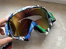 Яркие маски под мото кросс шлем очки, фото 2