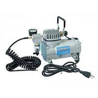 Миникомпрессор низкого давления с фильтром и шлангом 1/8HP