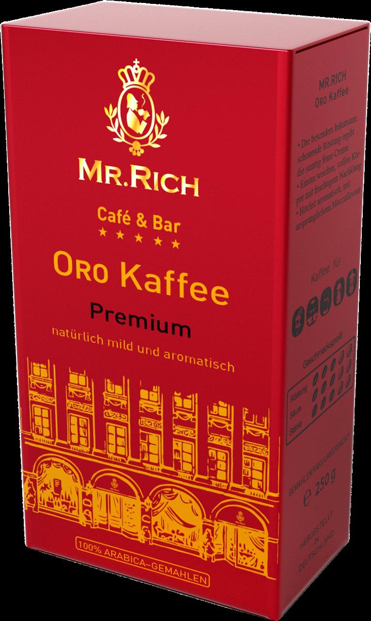 Mr.Rich Oro Premium 250 г. молотый