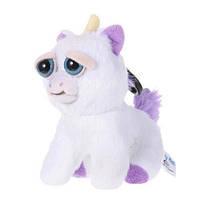 Интерактивная игрушка Feisty Pets Mini Добрые Злые зверюшки Плюшевый единорог Mini 12 см (0256)