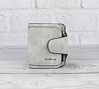 Компактный женский кошелек Baellerry 3302 светло-серый, расцветки, фото 1