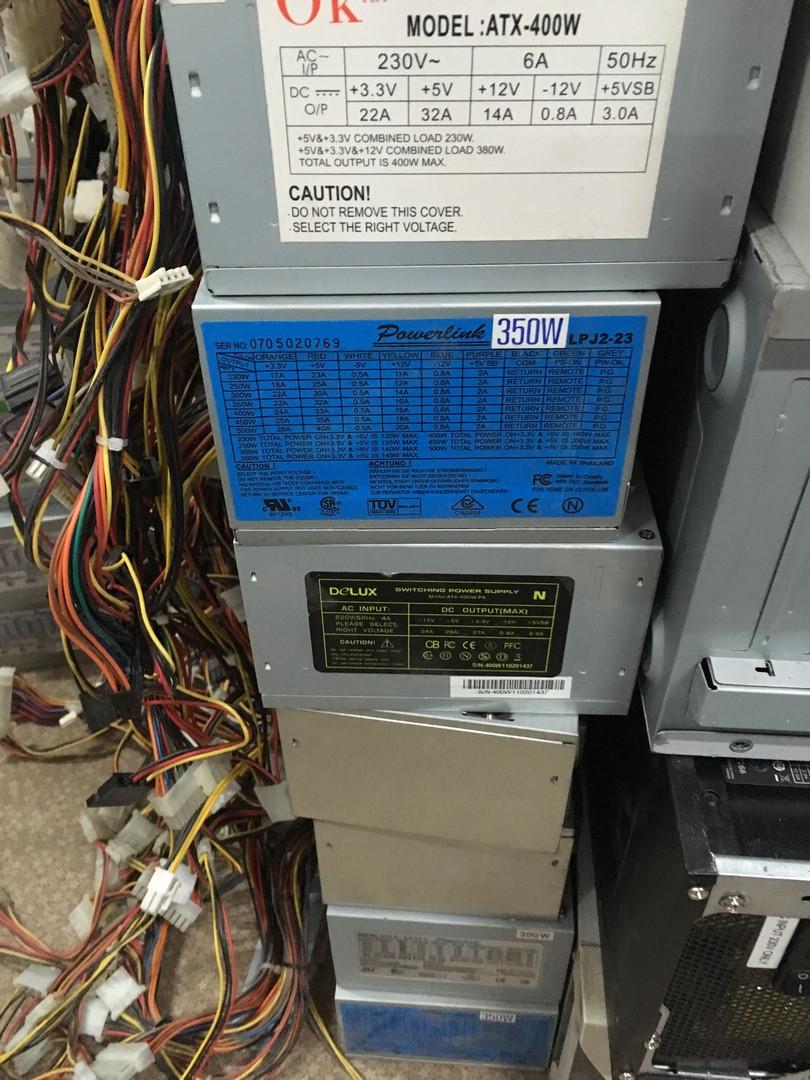 Блоки питания для компьютера и ПК 300 или 350вт