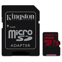 MicroSDXC 128GB Kingston Canvas React Class 10 UHS-I .