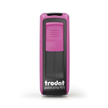 Оснастка Trodat 9511 карманная для штампа 38x14 мм, фото 2