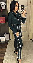 Женский костюм-двойка пиджак и брюки /разные цвета, 42-46, ft-433/, фото 2