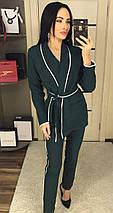 Женский костюм-двойка пиджак и брюки /разные цвета, 42-46, ft-433/, фото 3