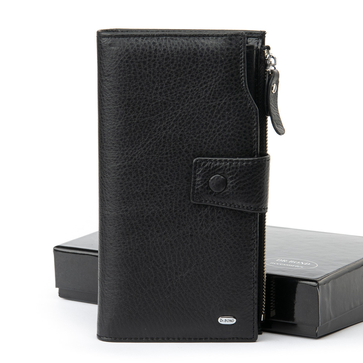 Мужской кожаный кошелек клатч Dr.Bond