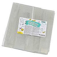 Обкладинка для книг PVC (24,5 см * 47 см), з одност. фіксат.180 мкм, гліттер              , фото 1