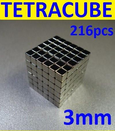 TETRACUBE, новинка 2019г. тетракуб 3*3*3 мм, 216шт,