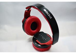 Беспроводные накладные наушники Sodo Bluetooth MH2 с динамиком. Красный, желтый, розовое золото