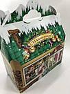 Новогодняя подарочная картонная упаковка для конфет 900 грамм, фото 4