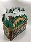 Новогодняя подарочная картонная упаковка для конфет 900 грамм, фото 5