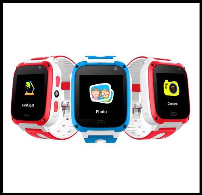 Дитячі Смарт годинник UNITA з GPS T100 сині з камерою і ліхтариком Якість 5+