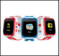 Дитячі Смарт годинник UNITA з GPS T100 сині з камерою і ліхтариком Якість 5+, фото 1