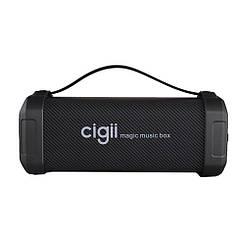 Портативная колонка с FM-радио Cigii F62DПортативный Bluetooth-динамик с шумоподавлением