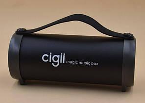 Портативная колонка с FM-радио Cigii S33D  Bluetooth Speaker Black