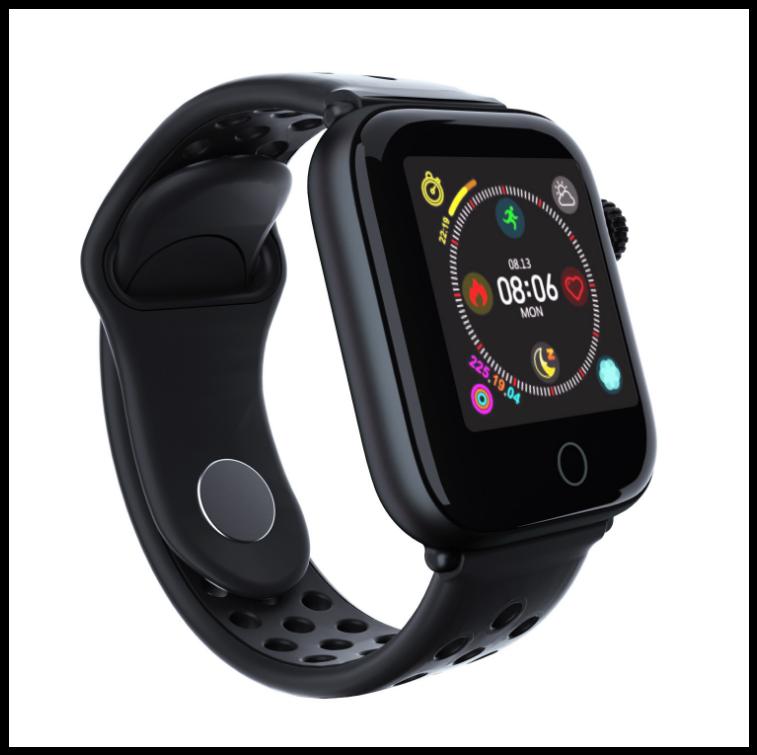 Смарт годинник Senoix Z7 - Чорний моніторинг серцевого ритму спортивний водонепроникний браслет