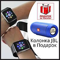 Умные часы наручные Смарт часы GT-08 Smart watch умные часы аналог Apple Watch, Портативная колонка в Подарок