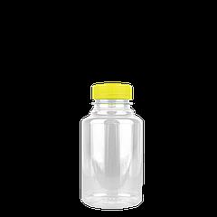 Бутылка ПЕТ 250мл с крышкой 5шт/уп диаметр горла 38мм