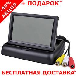 """Автомобильный складной монитор  4.3"""" дюйма для установки на торпеду PAL/NTFC"""