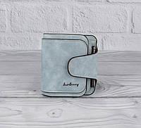 Компактный женский кошелек Baellerry 3302 светло-голубой, расцветки, фото 1