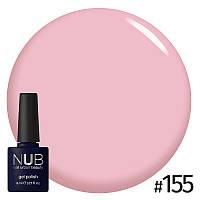 Гель-лак NUB Sakuras Garth № 155 (розовая сакура), 8 мл