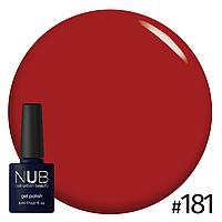 Гель-лак NUB Loubuotin № 181 (калина), 8 мл