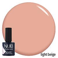 Гель-лак NUB Collection Maybe French? Light Beige (светлый бежевый), 11.8 мл