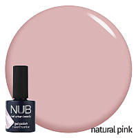 Гель-лак NUB Collection Maybe French? Natural Pink (натуральный розовый), 11.8 мл